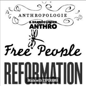 Free People Anthropologie Reformation Collections